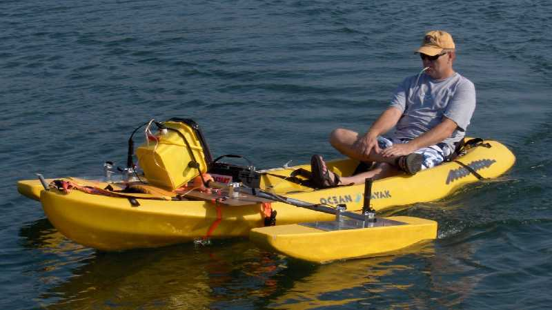 how to put a motor on a kayak
